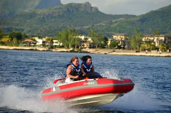 Fun Adventure Mauritius Ltd: Seakarting in Mauritius