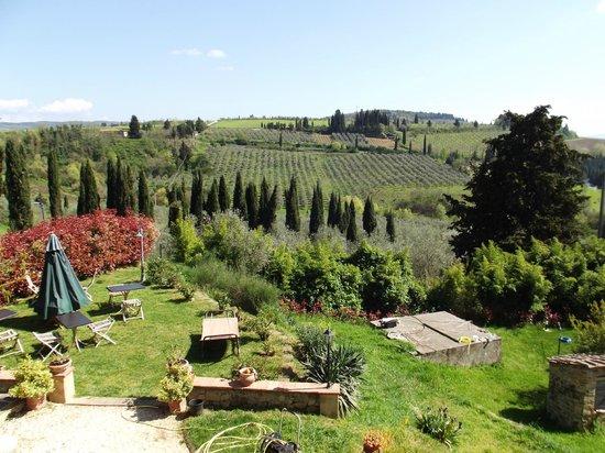 Borghetto di San Filippo : Panorama dalla camera verde!