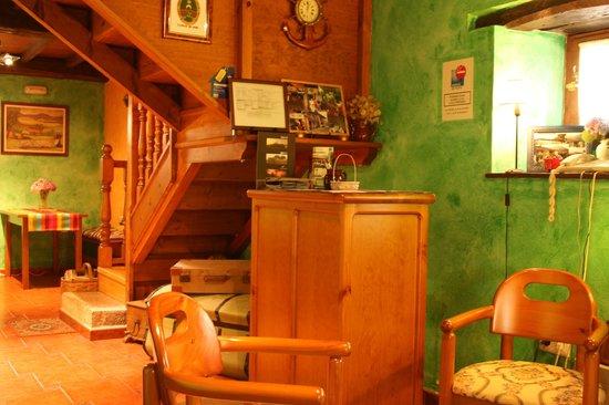 Hotel Rural El Llagar: Interior del hotel.