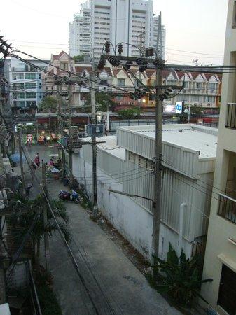 Ruen Buathong Boutique Guest House : Vue sur Patong