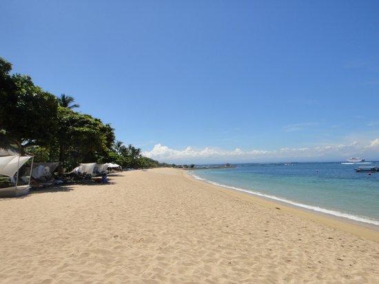 The Westin Resort Nusa Dua, Bali : プライベートビーチ