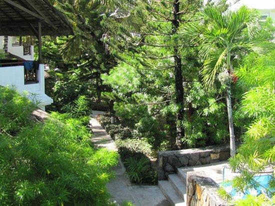 Emeraude Beach Attitude : Vue du parc