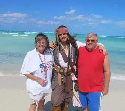 Castaway Cay 2014. yo ho yo ho matty