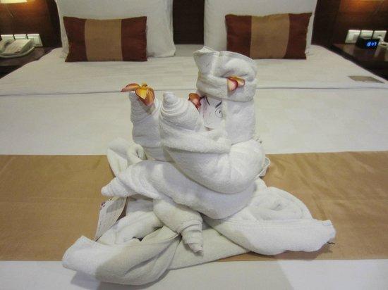 Amadea Resort & Villas: Talented housekeeping!