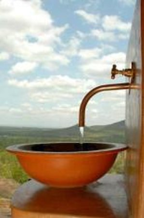 Ngwenya Lodge: view from the loo