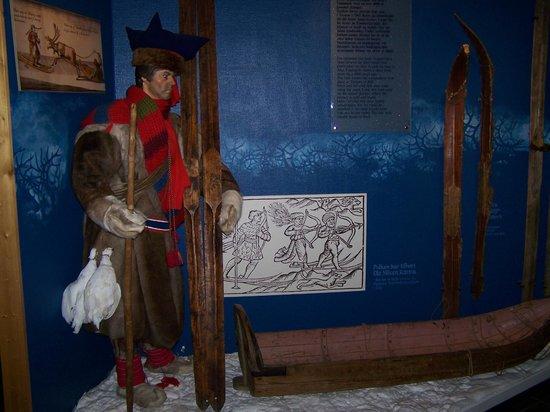 Musée du ski de Holmenkollbakken : le musée