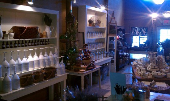 Verbena Soap Company: The shop