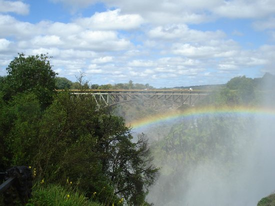 Mosi-oa-Tunya / Victoria Falls National Park: Cataratas Victoria desde Zambia