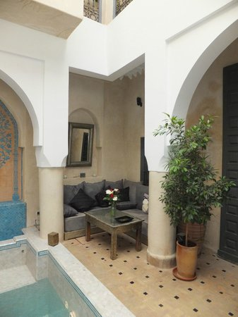 Riad Papillon: Cooling dipping pool