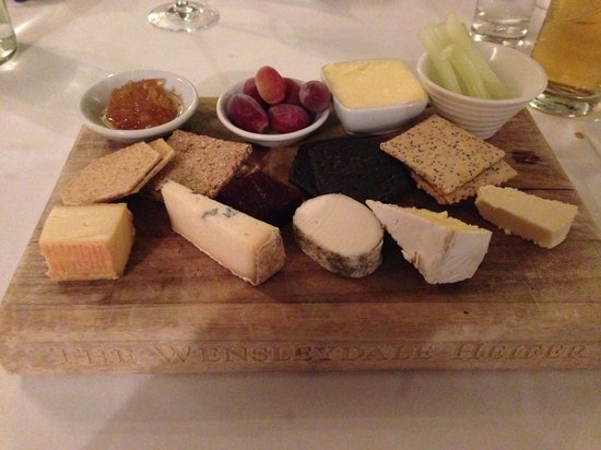 The Wensleydale Heifer : The best cheese board ever....!