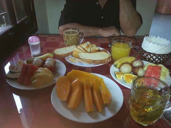 Thanh Van Hotel: notre petit-déjeuner
