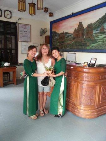 Thanh Van Hotel: Acceuil de l'hôtel