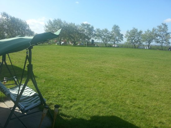 Sheerness Holiday Park: lovely playing field