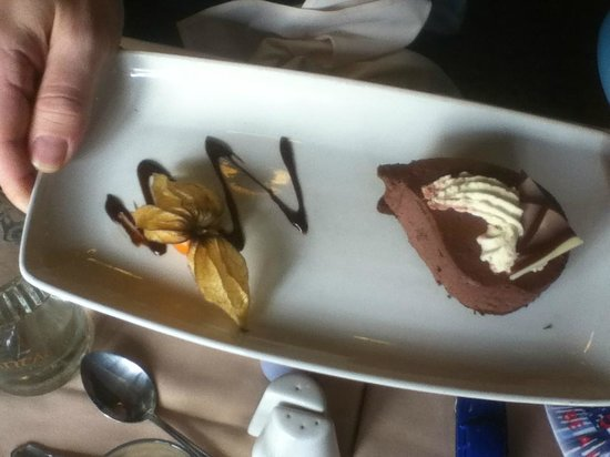 The Broadoak Hotel: Dessert.