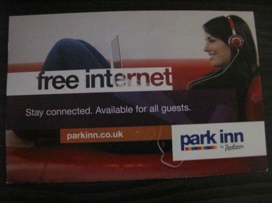 Park Inn by Radisson: Free internet