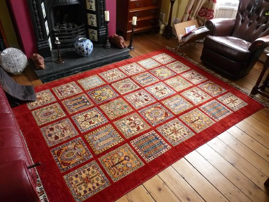 Troy Rug: our purchase at home!