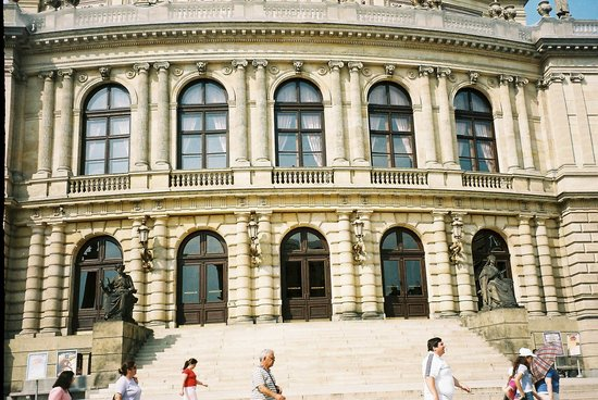 Rudolfinum-The concert Hall of Praque