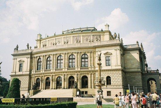 Rudolfinum-The concert Hall of Praque
