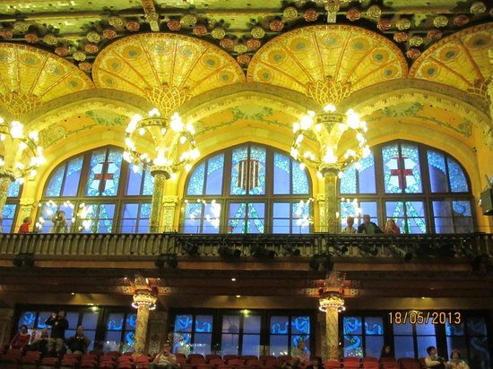 Palau de la Musica Orfeo Catala: Зал