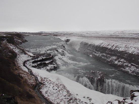 Reykjavik Excursions : Gullfoss (Golden Falls)