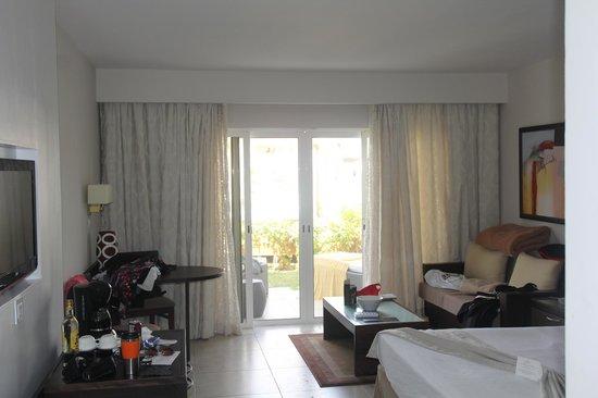 Paradisus Princesa del Mar Resort & Spa: wolk out from room 7136