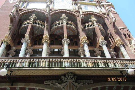 Palau de la Musica Orfeo Catala: Дворец