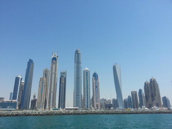 Dubai Marina - Marina Heights : View from the sea