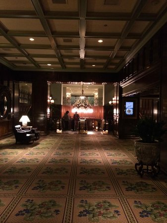 The Adolphus : lobby