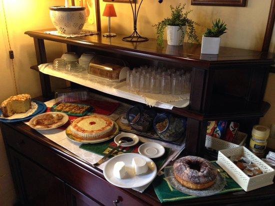 Hotel Archimede Ortigia: Colaz