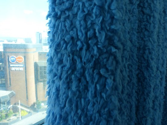 Curtains Ideas curtains cardiff : Cookie Monster curtains - Picture of The Big Sleep Hotel Cardiff ...