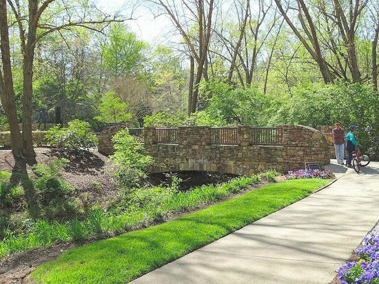 Bridge Picture Of Tanger Family Bicentennial Garden Greensboro Tripadvisor