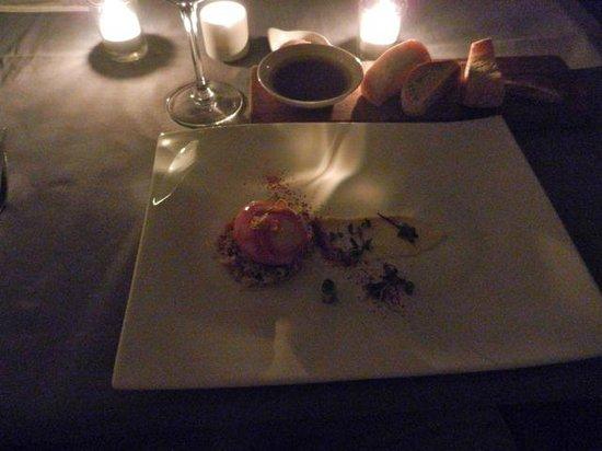 Cube Tasting Kitchen: 04 Egg mayo a la candle