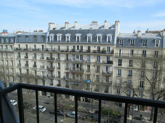 Hotel Garance: View from balcony