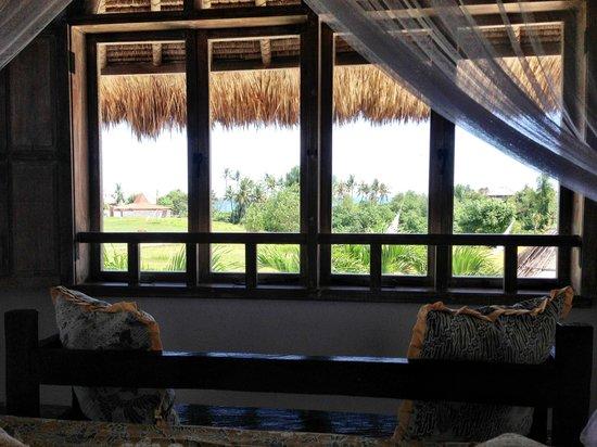 Hacienda Bali : View from upstairs bedroom
