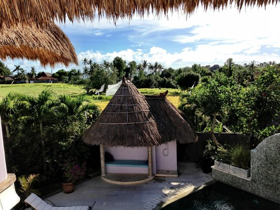 Hacienda Bali : View from upstairs