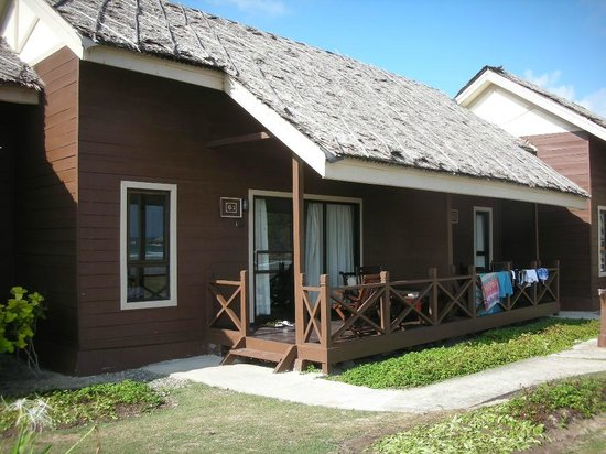 Nirwana Gardens Mayang Sari Beach Resort : バンガロー遠景