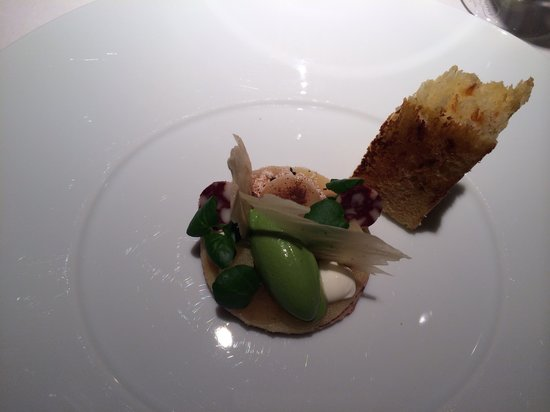 Restaurant Francais : Vorspeise, Gänseleber