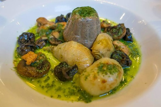 Whits: Woodland Mushrooms and Escargot