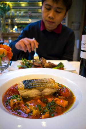 Whits: Sea Bass, Tomato and Octopus Stew