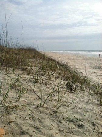 Litchfield Beach & Golf Resort: Even on cloudy days a walk on the beach is lovely.