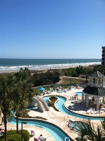 Litchfield Beach & Golf Resort : View from our room