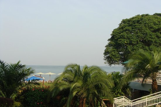 Lake Kivu Serena Hotel: uitzicht vanuit kamer