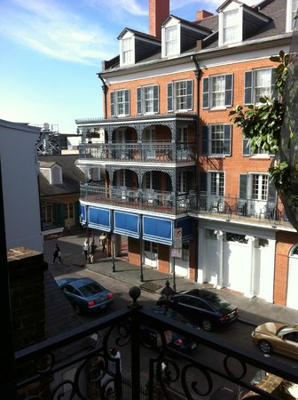 Hotel Mazarin: View from room 318 looking towards Bourbon St.
