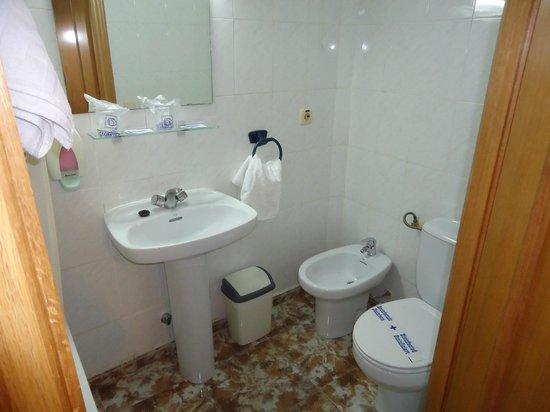 Hotel Rialto: Badezimmer