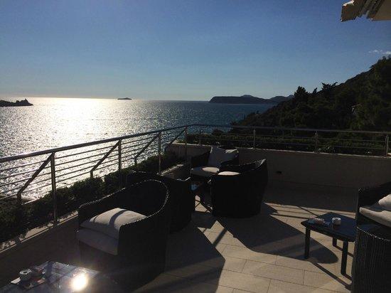 Hotel More : terrasse