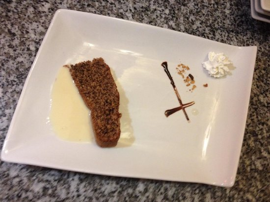 Auberge des Lys d'Or : Gâteau au noix carte