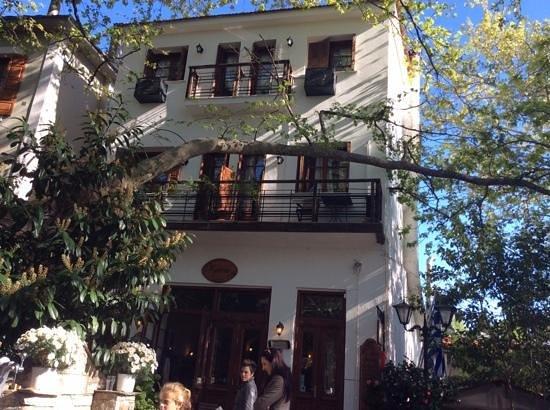 Kritsa Hotel : The balconies