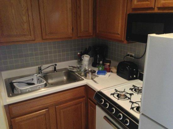 Dewitt Hotel & Suites : Kitchen