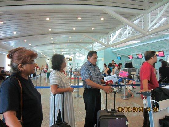 Seminyak Square Hotel: Denpasar Int. airport