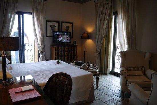 Hotel Villa Carlotta: Notre chambre
